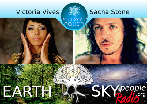 Sacha Stone Interview by Victoria Vives | Earth Sky People Radio