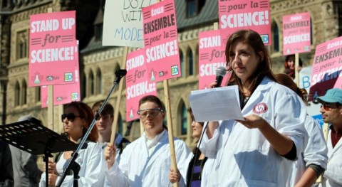 """Government Scientists Gather To Protest Something Everybody Thought Was A """"Conspiracy"""""""