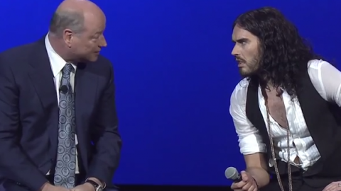 Watch Russell Brand Interview Quantum Physicist Dr. John Hagelin: It's Great When Celebrities Do This
