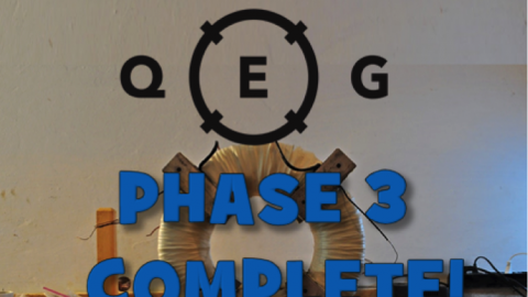 Breaking News: QEG Phase 3 Complete