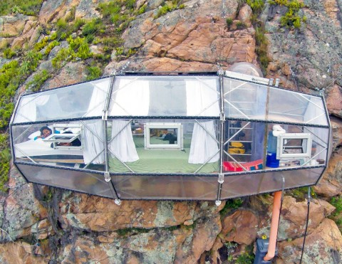 Crystalline Skylodge offers sky-high accommodations above Peru's Sacred Valley