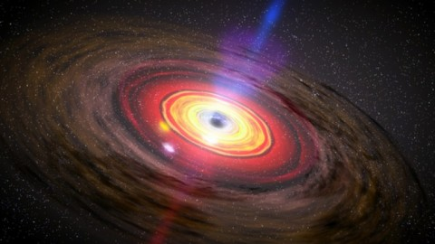 Astronomers Discover Black Hole So Large, It Defies Current Theory Of Galaxy Evolution
