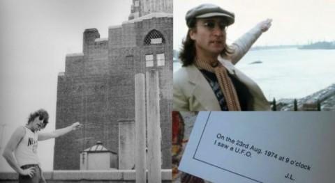 Rare Footage Of John Lennon Describing His UFO Experience