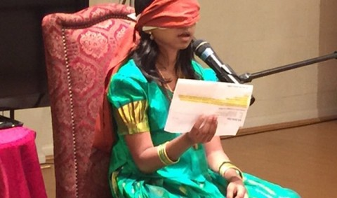 9-Year-Old Girl Activates Third Eye and Can Now Read Blindfolded