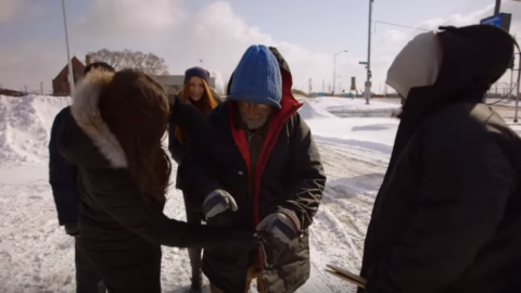 She Gives Homeless Woman A Coat & Gets Yelled At: Her Response Is Extremely Inspiring