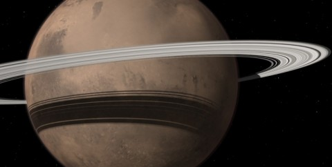 Scientists: Mars' Moon Will be Ripped Apart to Form Rings Around the Planet