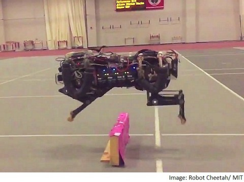 The First Robotic Jumping Cheetah Is Here & It Is Wicked