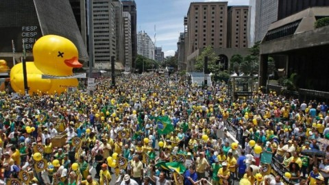 Protests Persist in Brazil: Calls For Impeachment on President's Birthday