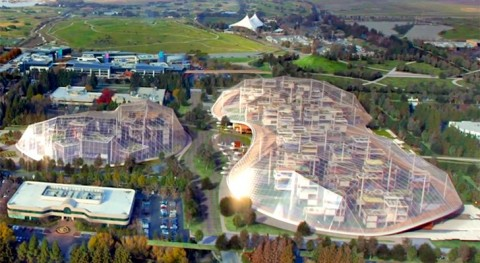 Google Reveals Incredible Plans For Their New Eco-Utopian Headquarters