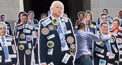 California Politicians Could Soon be Forced to Wear Logos of Top Corporate Donors