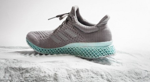 Check Out Adidas' 3-D Printed Sneakers Made From Plastic Trash From The Ocean