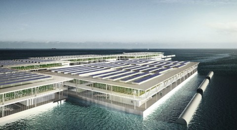 Can Solar Powered Floating Farms Provide Power For The World?