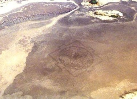 Mysterious 13-Mile-Long Sri Yantra Mandala Crop Circle Found in Desert