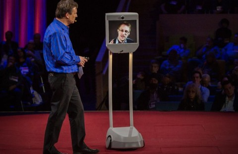 "Snowden Makes Unscheduled Appearance At TED: ""The Biggest Revelations Are Yet To Come"" (2014)"