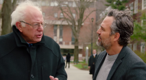 A Remarkable, Heartfelt Conversation Between Mark Ruffalo & Bernie Sanders