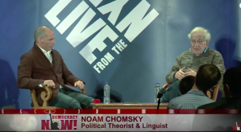 """Noam Chomsky: How Bernie Sanders Has Created A """"Mobilized Force That Could Change The Country"""""""