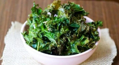 Recipe For Nutrient Packed Organic Kale Chips