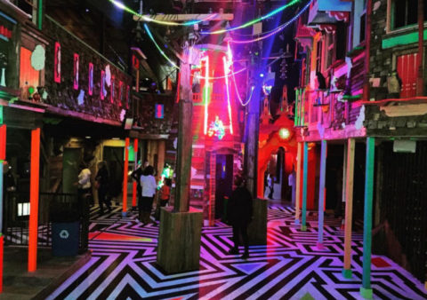 George R.R. Martin and Meow Wolf Transform Abandoned Bowling Alley into Immersive Art Experience