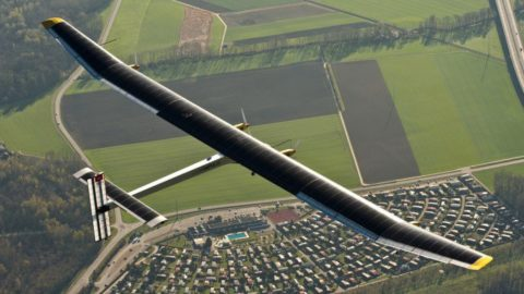 Solar Powered Plane Completes 3-Day Journey Across The Pacific Ocean