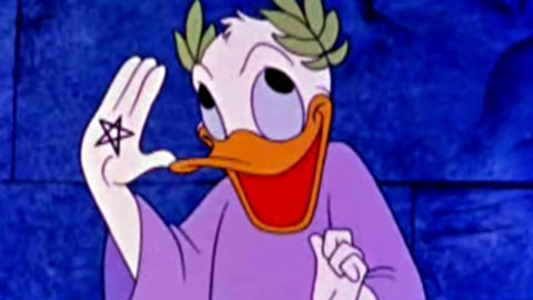 Donald Duck Teaches Sacred Geometry in a Cartoon From the 50's