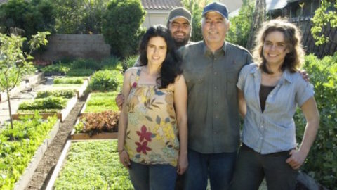 How This L.A. Family Is Growing 6,000 Pounds Of Food Annually In Their Backyard