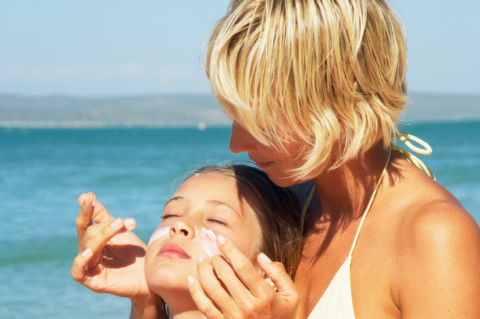 """Excuse Me While I Lather My Child In This Toxic Death Cream."" (Sunscreen)"