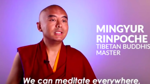 Tibetan Buddhist Master Monk Explains How Meditation Is Not What Most People Think It Is