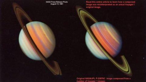 "Ames Research Centre (NASA) Scientist Says Giant UFOs Within The Rings Of Saturn Are ""Proliferating"""