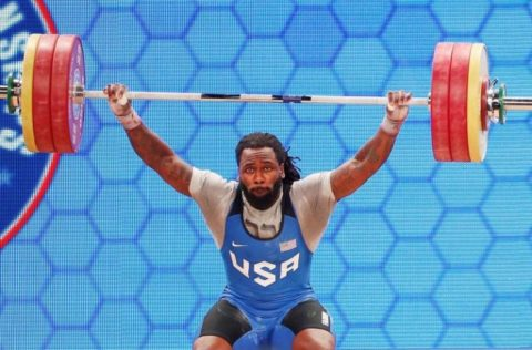 Why America's Only Male Olympic Weightlifter Is Completely Vegan