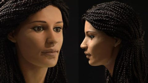 Researchers Reconstruct 2300-Year-Old Egyptian Mummy's Face — But Did She Really Look Like That?