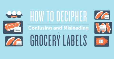 Understanding Misleading Food Labels: An Infographic Breaks Down Which Foods They're Used On & What They Mean
