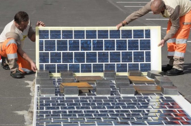 World's First Solar Panel Road Now Open in France France759x500-672x443