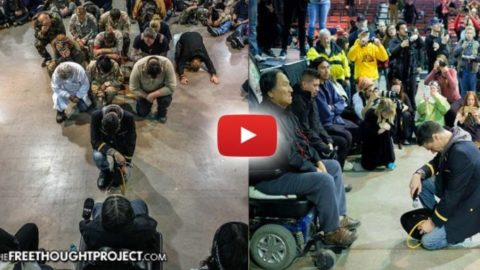 Standing Rock Vets Do What US Govt Never Had the Courage to Do — Apologize to Native Americans