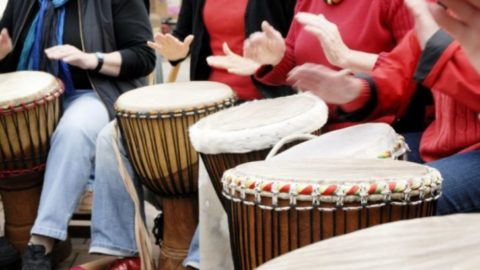 Study Suggests That Group Drumming is Better Than Prozac
