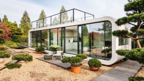 Self-Contained Prefab Home Lets You Live Almost Anywhere In The World