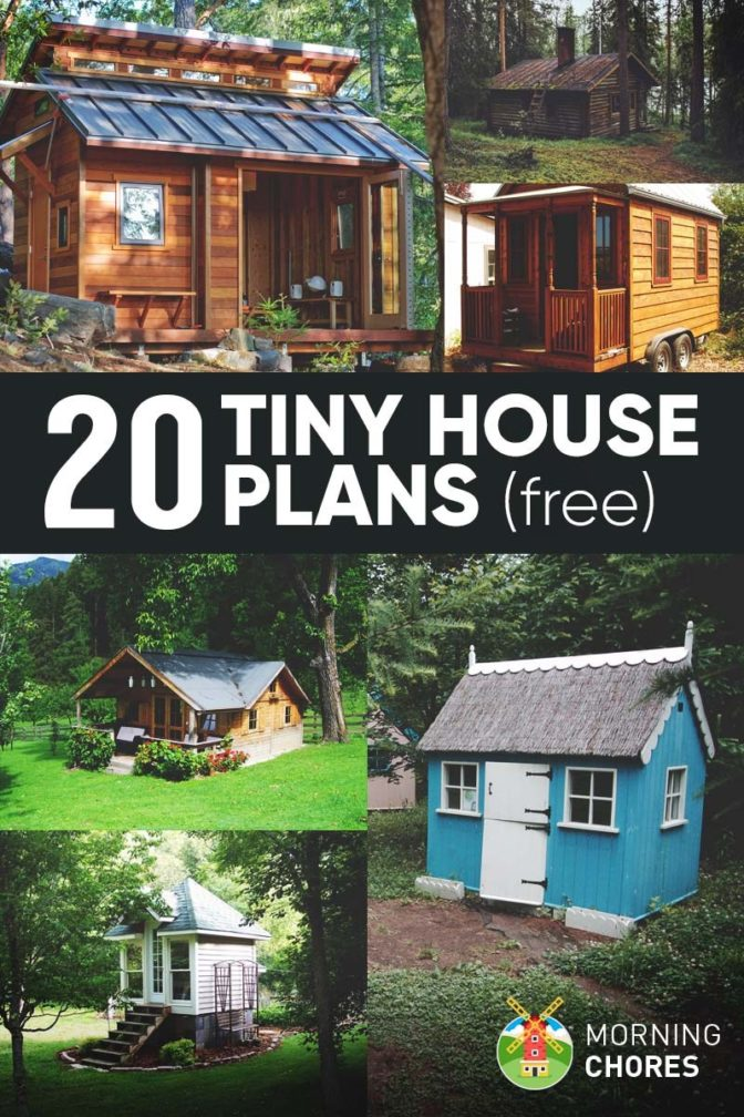 20 free diy tiny house plans to help you live the tiny happy life new earth media