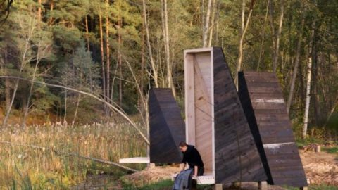 Tiny Meditation Huts Encourage Hikers Reconnect With Nature