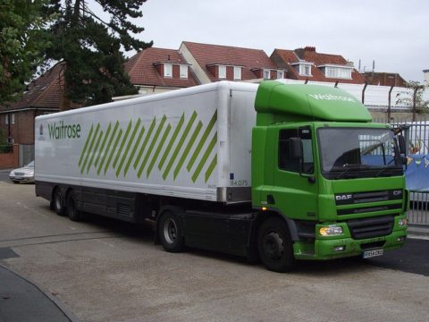 British Online Supermarket Launches Trucks Powered by Food Waste