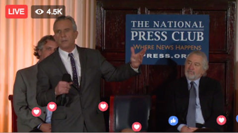 A $100,000 Message From Robert F. Kennedy Jr & Robert De Niro To American Journalists & Scientists