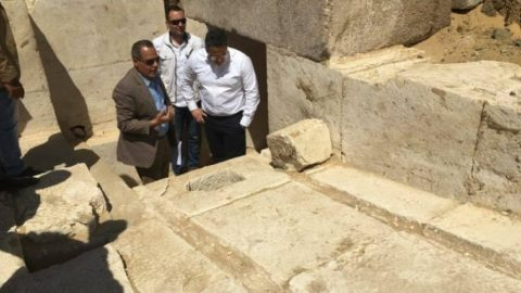 Archaeologists Announce The Discovery Of A 3,700 Year-Old Pyramid In Egypt
