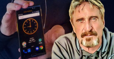 John McAfee Just Announced the Most Private Smart Phone Ever: Here's How it Works