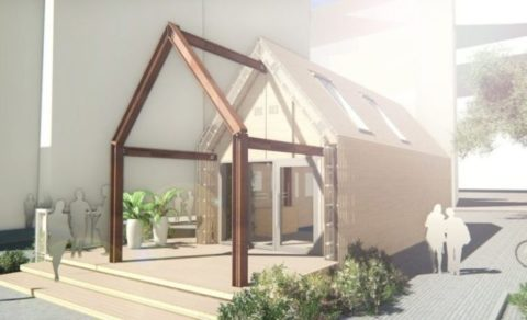 This Prefab House Of The Future Is Made From Recycled, Reusable, & Sustainable Materials