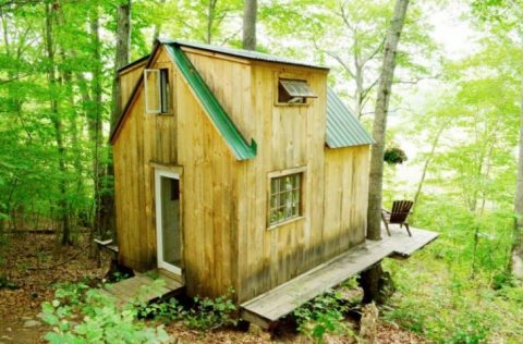 Living Off The Grid: The Story Of One Man Building A Dream Cabin For His Bride