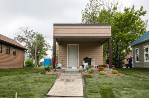 New Tiny Home Community In Detroit Offers Housing To Low Income Citizens