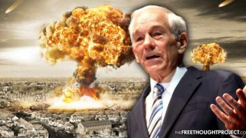 Ron Paul Issues Dire Warning: 'Somebody's Going to Use a False Flag to Start War'