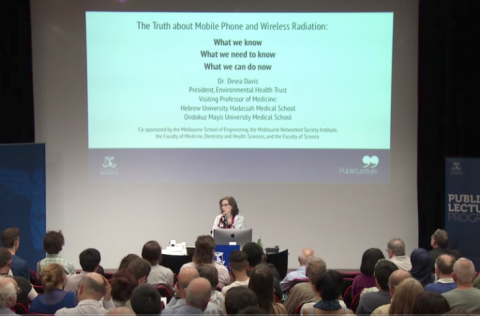 """The Truth About Mobile Phone & Wireless Radiation"" – An Informative 1 Hour Lecture From Dr. Devra Davis"