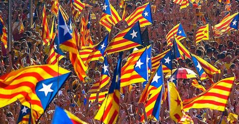 Catalonia Just Officially Declared Independence from Spain — and Things Are Getting Ugly
