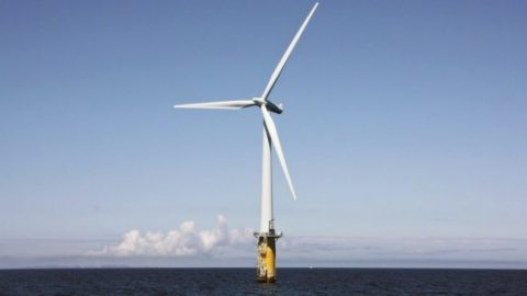 The World's First Floating Wind Farm Just Started Generating Electricity