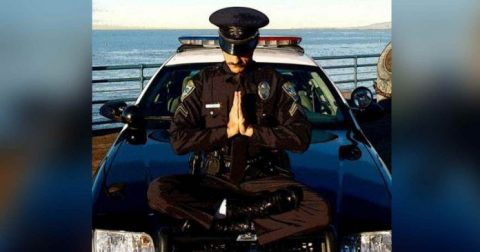 Department Finds Powerful Way to Thwart Police Brutality by Teaching Cops Yoga