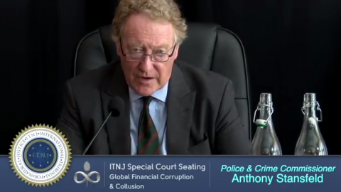 Police & Crime Commissioner Anthony Stansfeld Speaks on Global Financial Corruption & Collusion